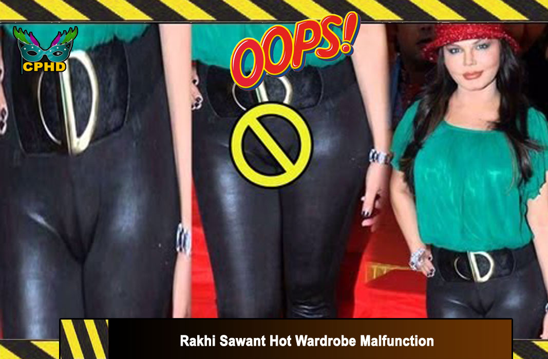 Rakhi-Sawant-Hot-wardrobe malfunction