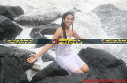 Anjali-Pandey-wet-and-sexy-in-white-14