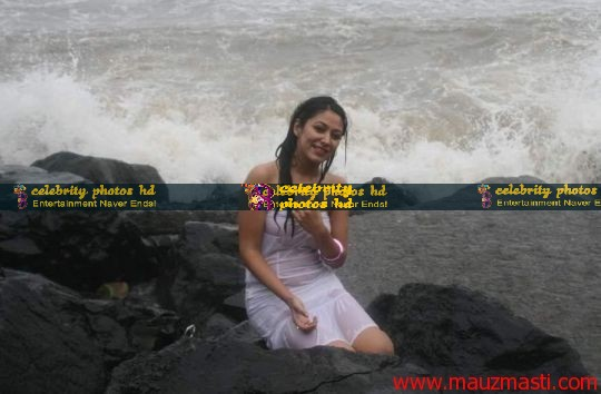Anjali-Pandey-wet-and-sexy-in-white-15