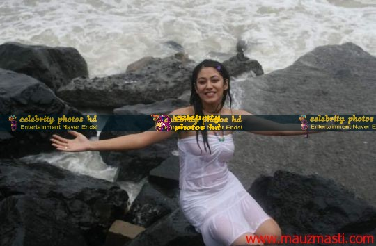 Anjali-Pandey-wet-and-sexy-in-white-16