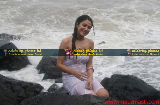 Anjali-Pandey-wet-and-sexy-in-white-17