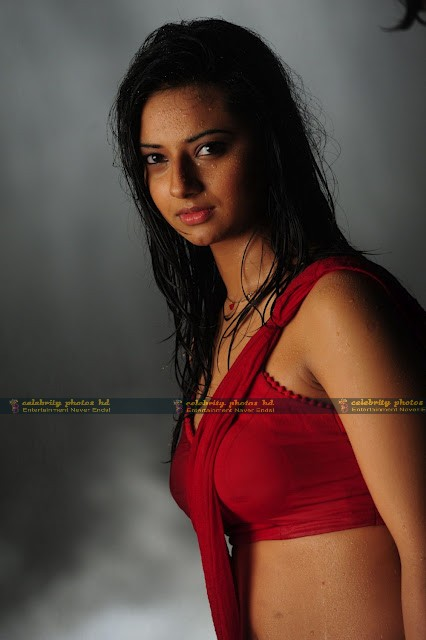 Isha_Chawla_Hot_Wet_saree_prema_kavali_05