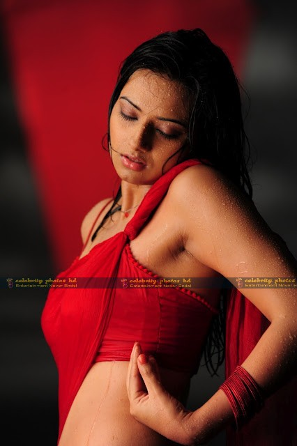 Isha_Chawla_Hot_Wet_saree_prema_kavali_08