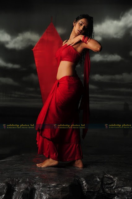 Isha_Chawla_Hot_Wet_saree_prema_kavali_09