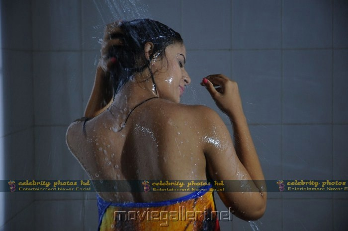 Hot Anuhya Reddy Bath Stills