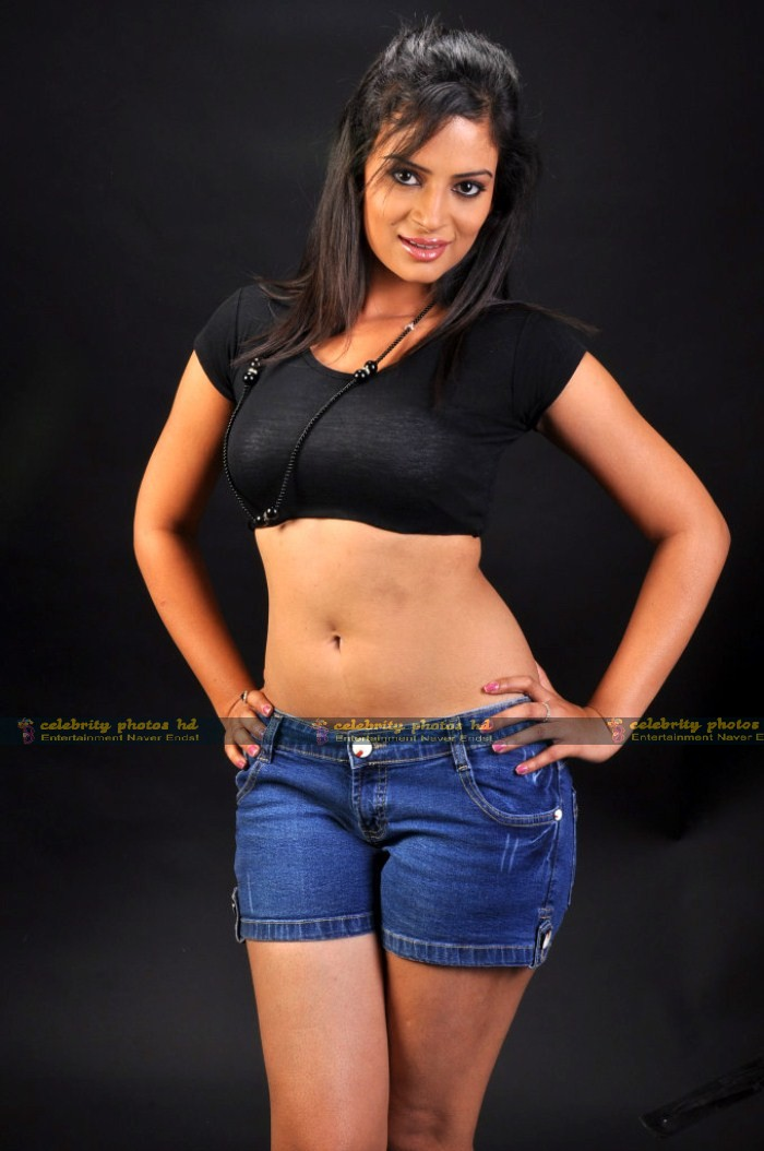 Anuhya Reddy Hot Pics in Black Dress