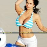 Denise Milani On Quad