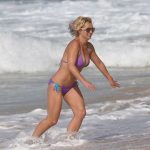 BRITNEY SPEARS Hot Photos in Bikini at a Beach in Hawaii