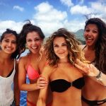 Alexa Vega Enjoying Vacation time on Boat