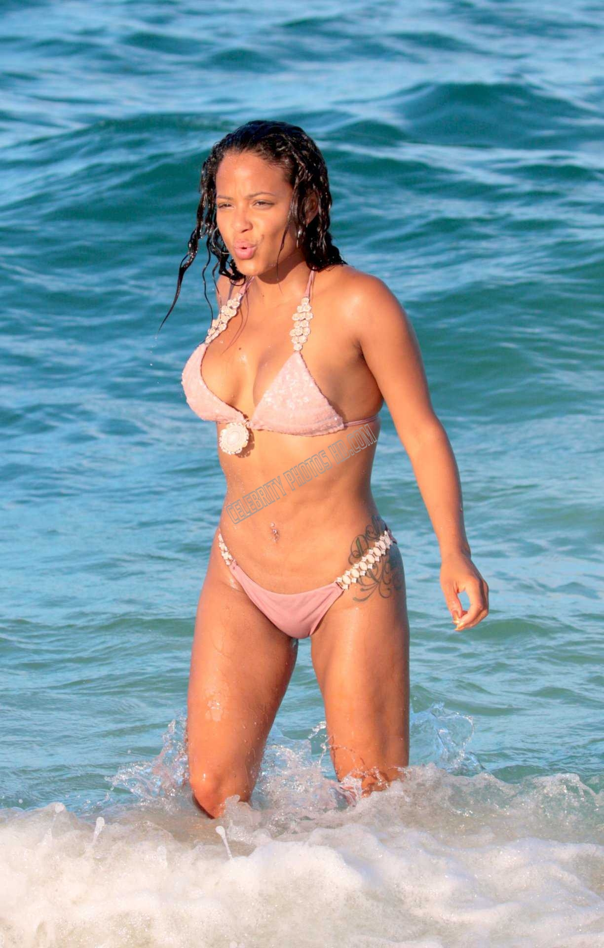 Christina Milian Bikini Hot Celebrity Photos (5)