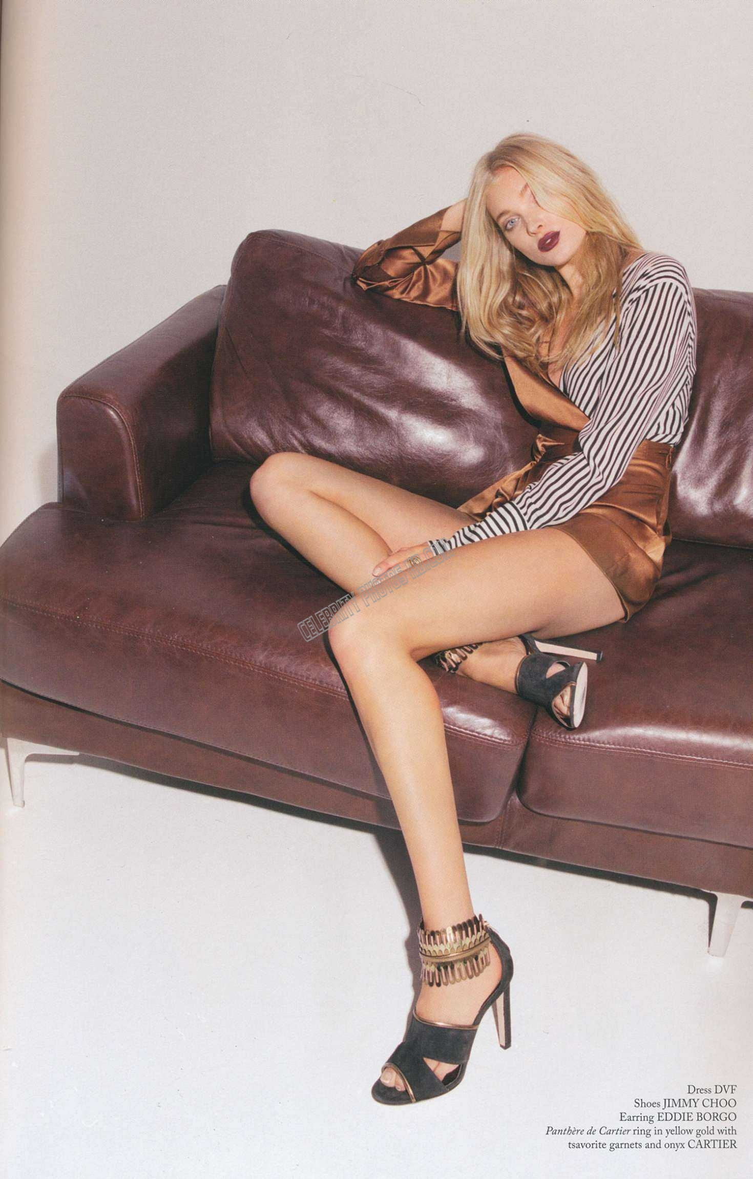 Elsa Hosk Glass In Magazine Photos (5)