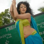 Actress Aindrita Ray hot navel show in Green Saree – Celebrity Photos HD