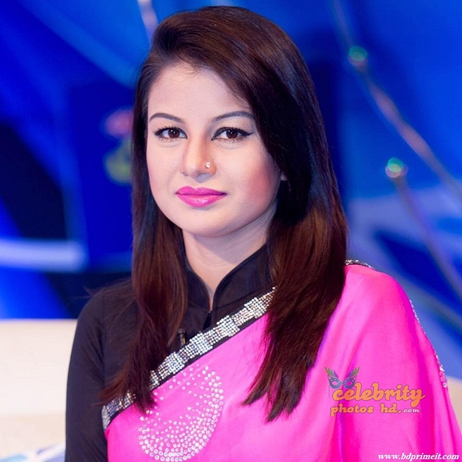 "Bangladeshi Super Model,News Presenter ""Farhana Nisho"" Photos"
