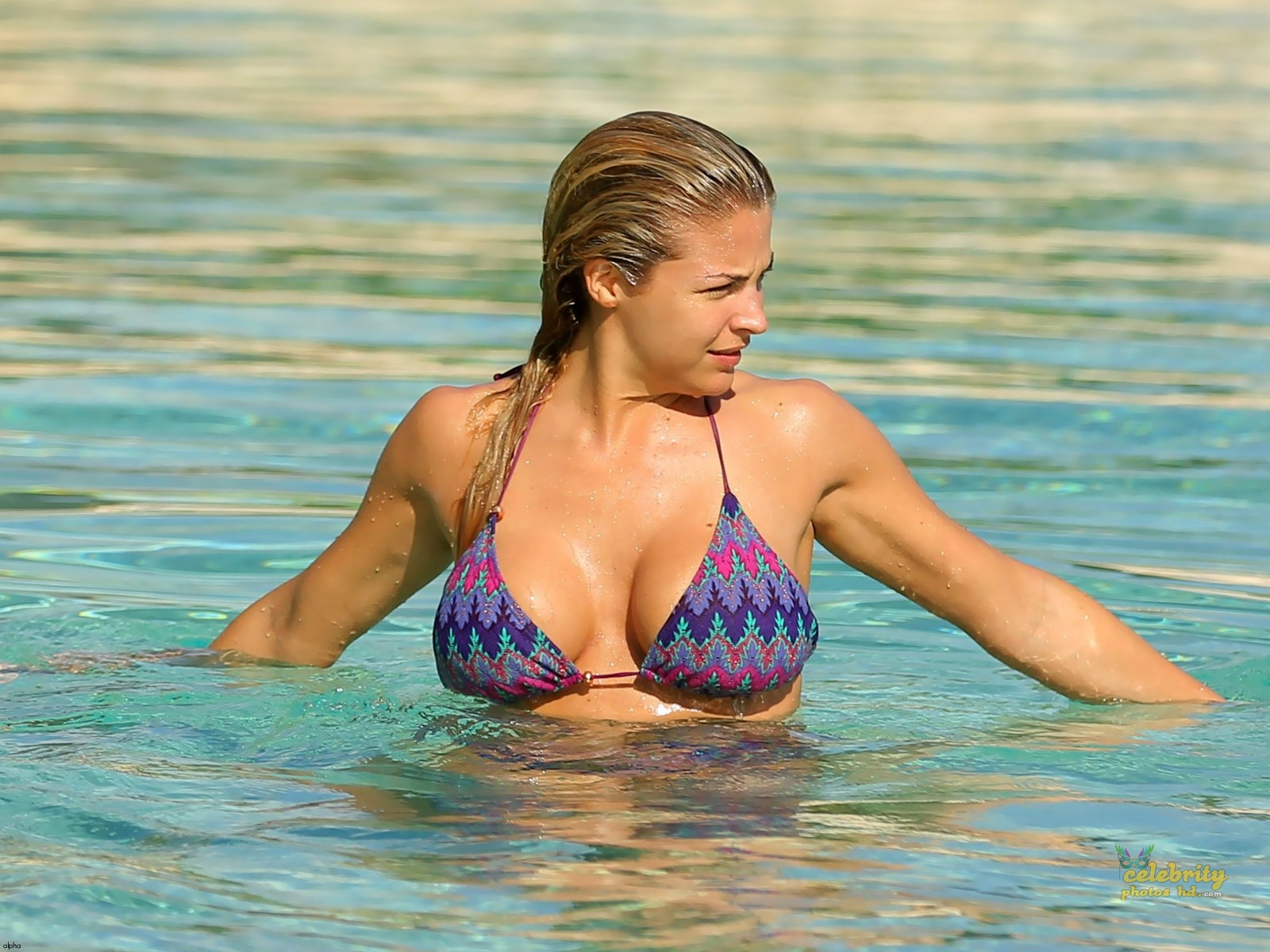Hollywood Actress Gemma Atkinson Bikini Photo (5)