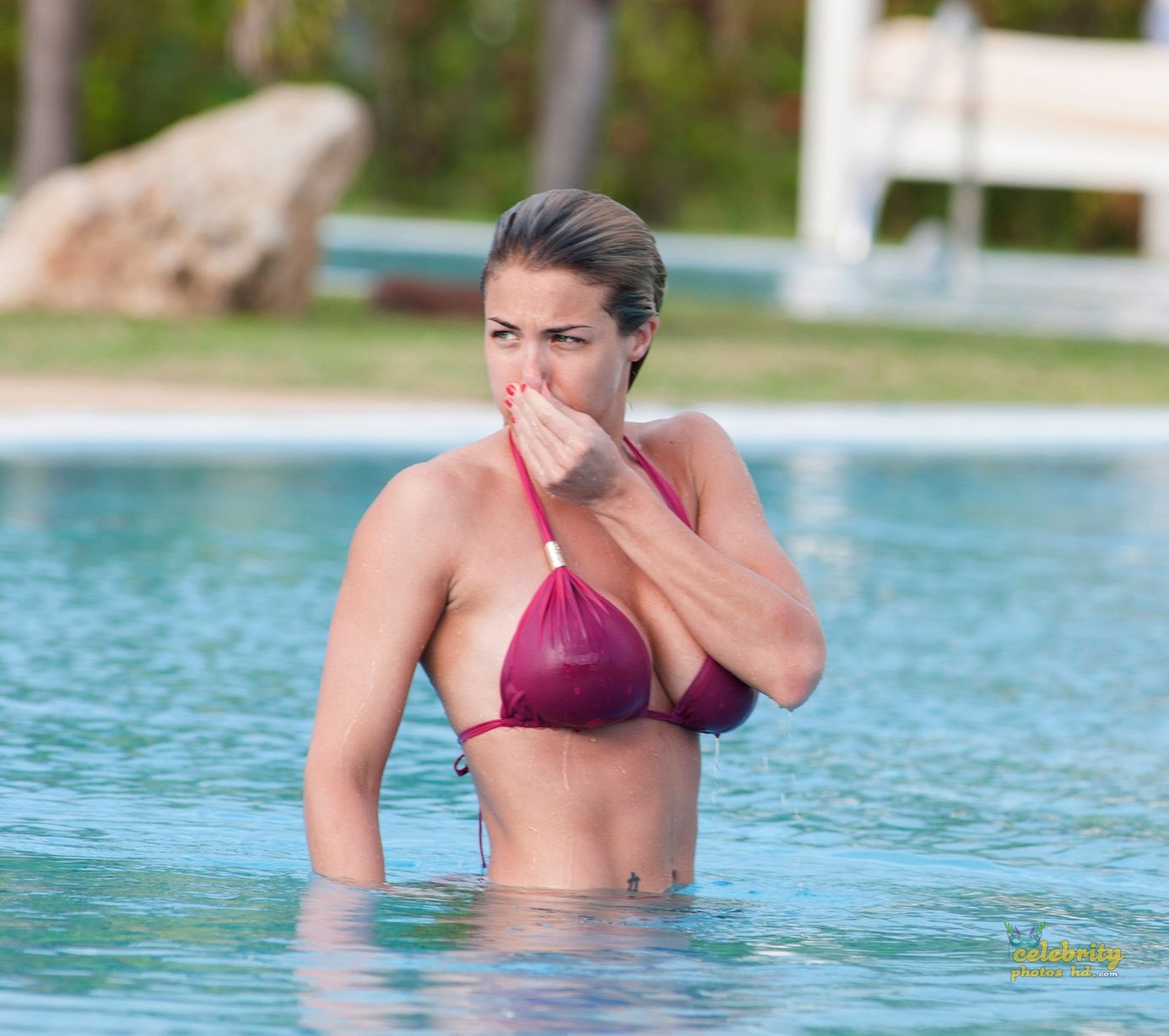 Hollywood Actress Gemma Atkinson Bikini Photo (6)