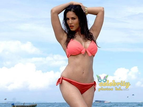 Indian Top Bikini Model, Actress Sunny Leone New Photo (5)