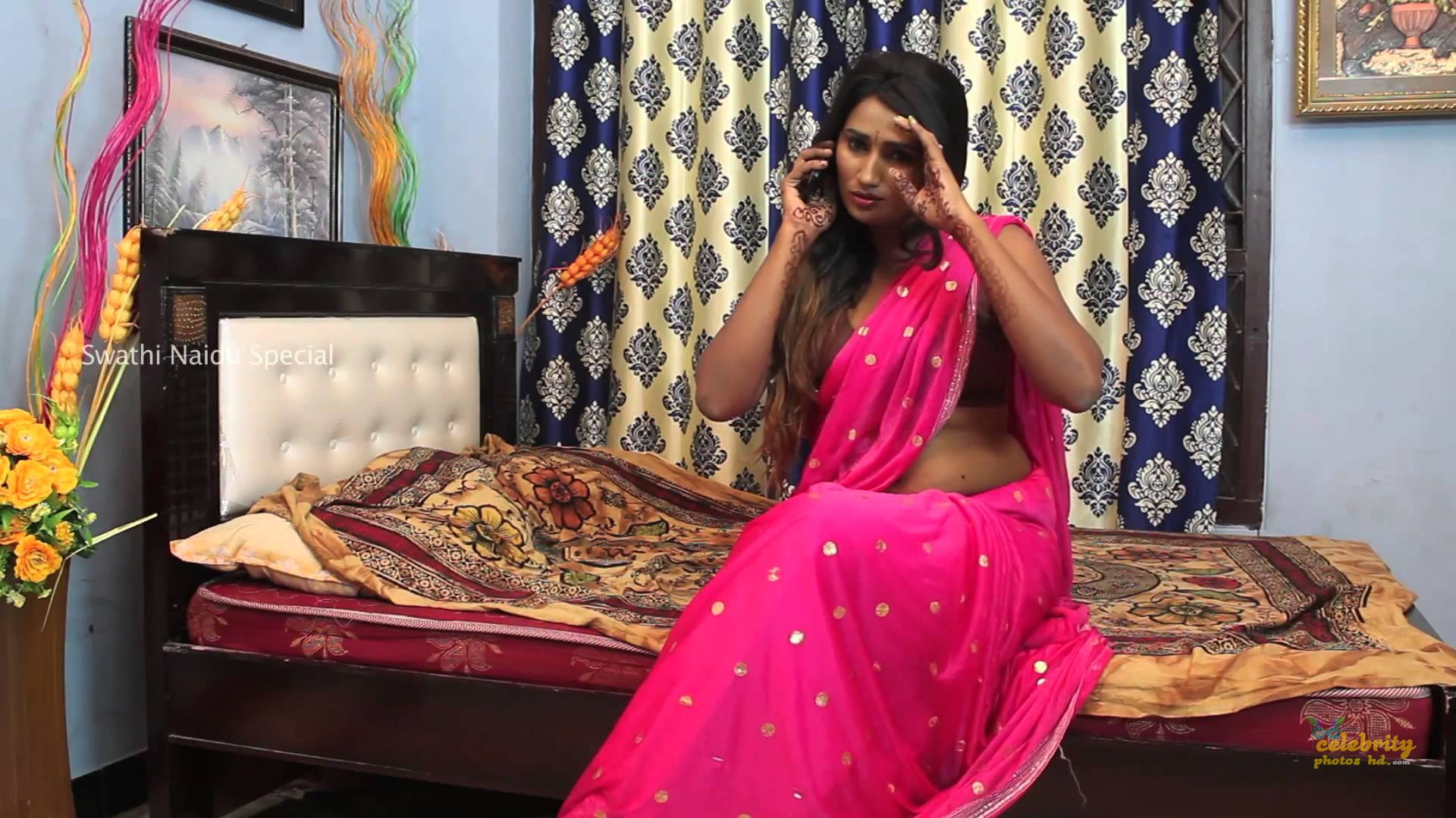 South Indian New Exclusive Hot Model Swathi Naidu (7)