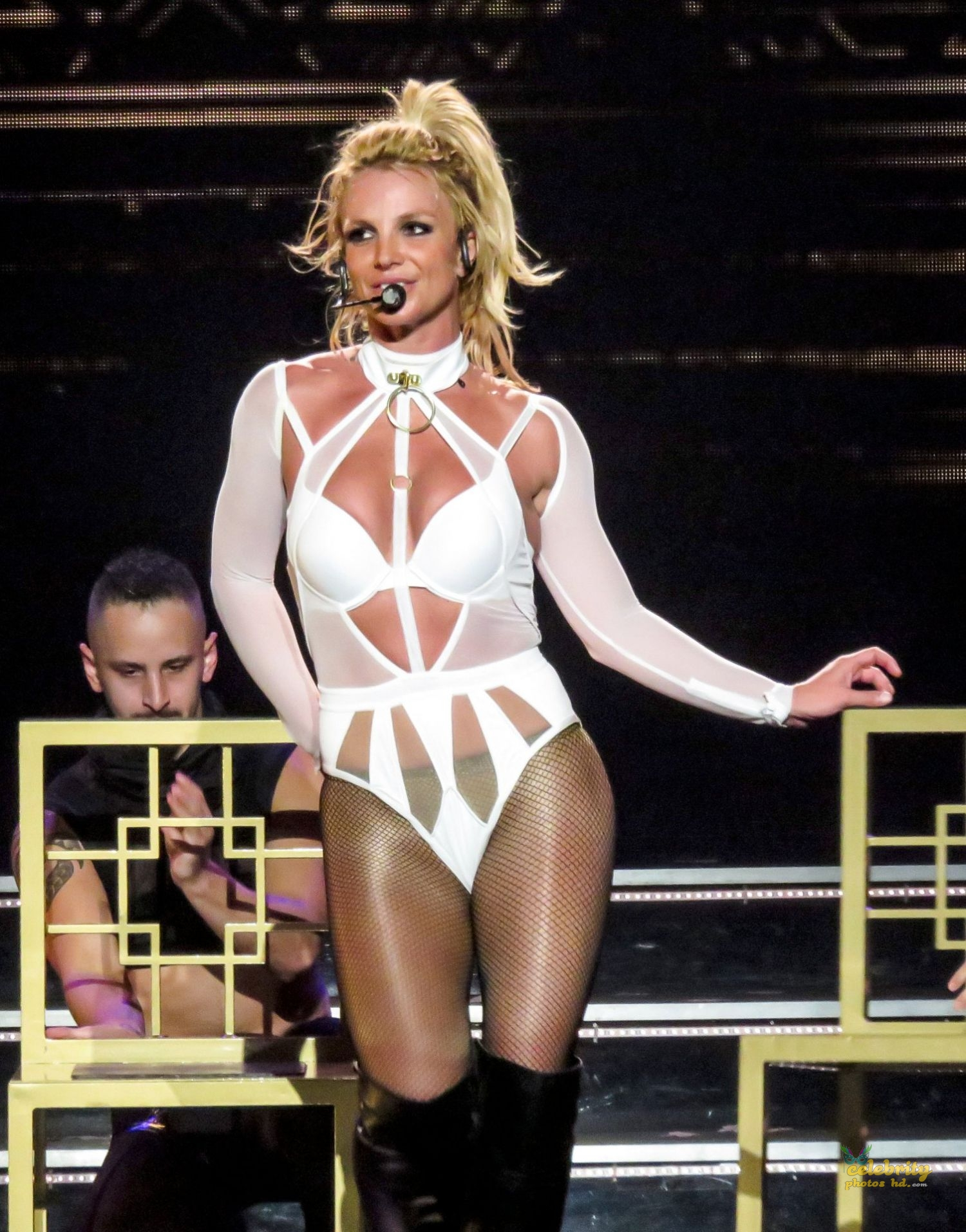 "Britney Spears Performing at ""Piece Of Me"" Show in Las Vegas (3)"