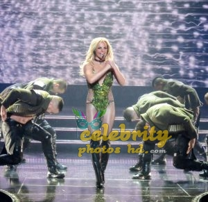 "Britney Spears Performing at ""Piece Of Me"" Show in Las Vegas (4)"