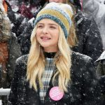 Be SOCIAL!!! Chloe Moretz at Respect Rally while its Snowing in Park City