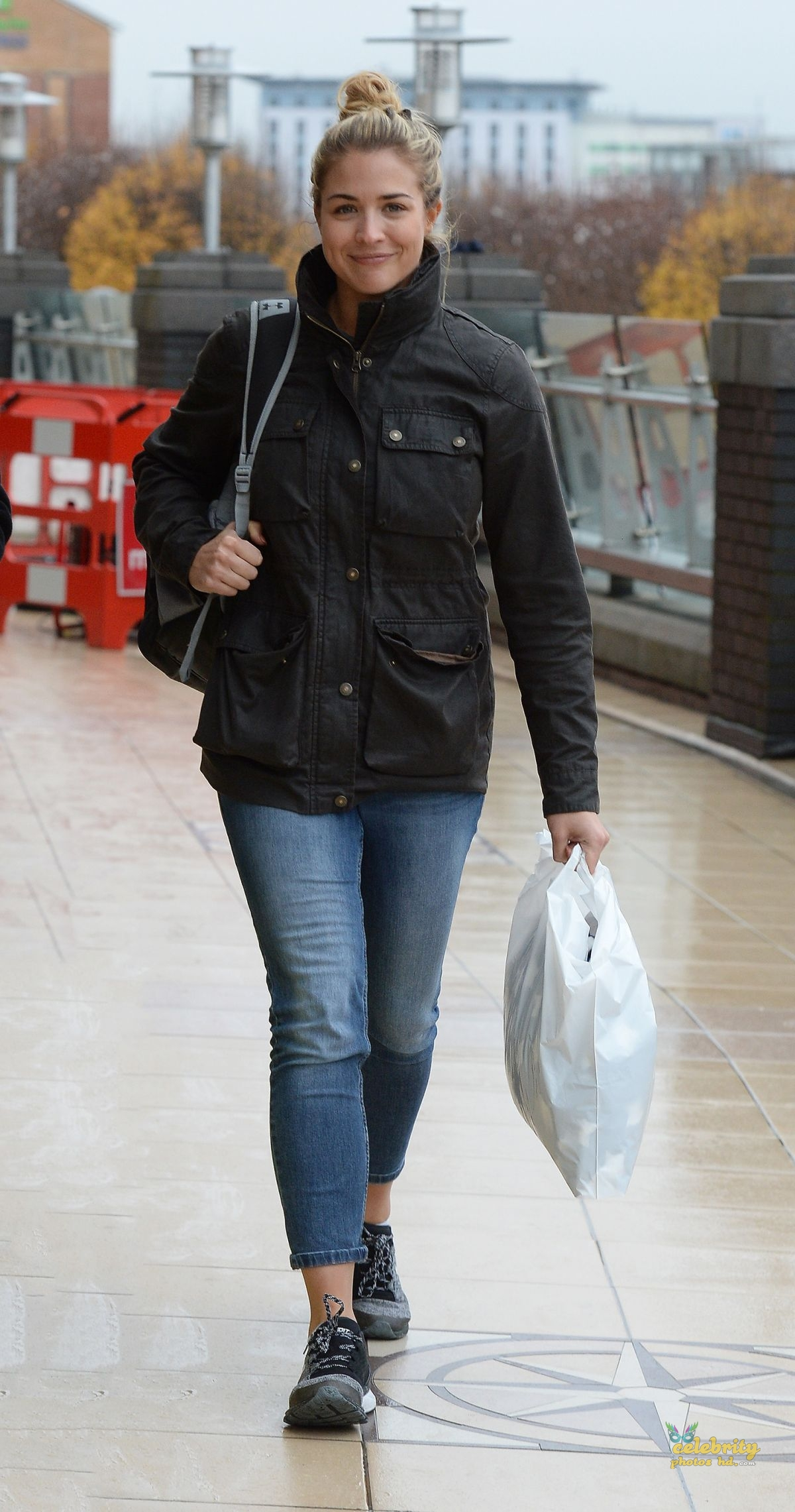 GEMMA ATKINSON in London (2)