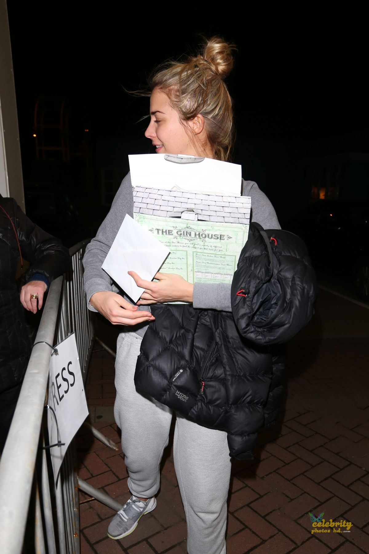 GEMMA ATKINSON in London (3)
