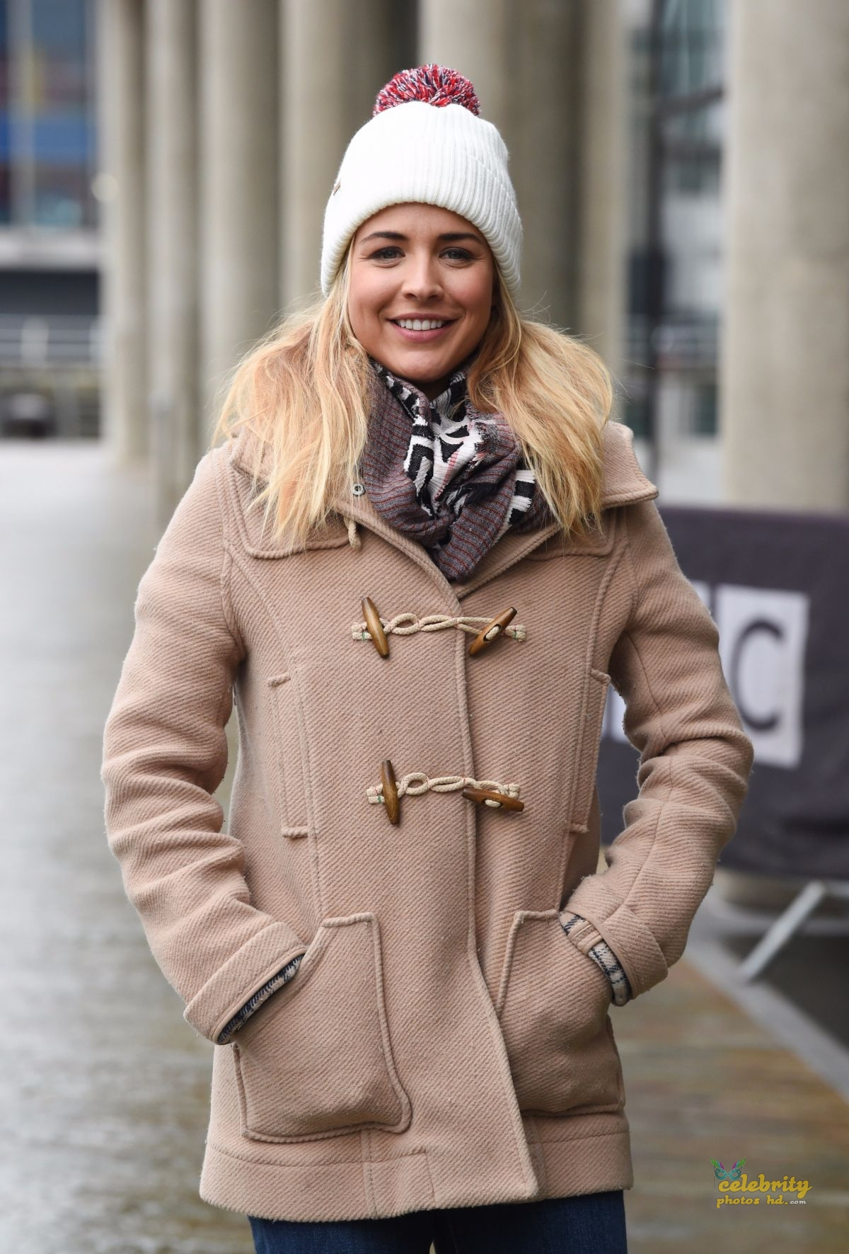 GEMMA ATKINSON in London (5)