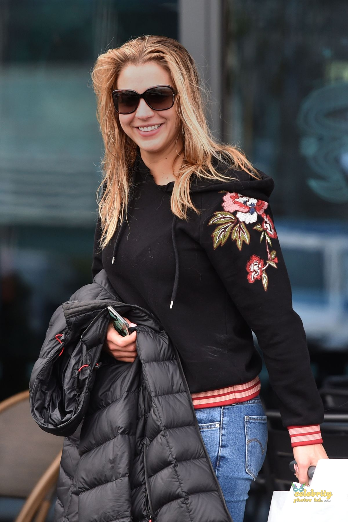 GEMMA ATKINSON in London (8)