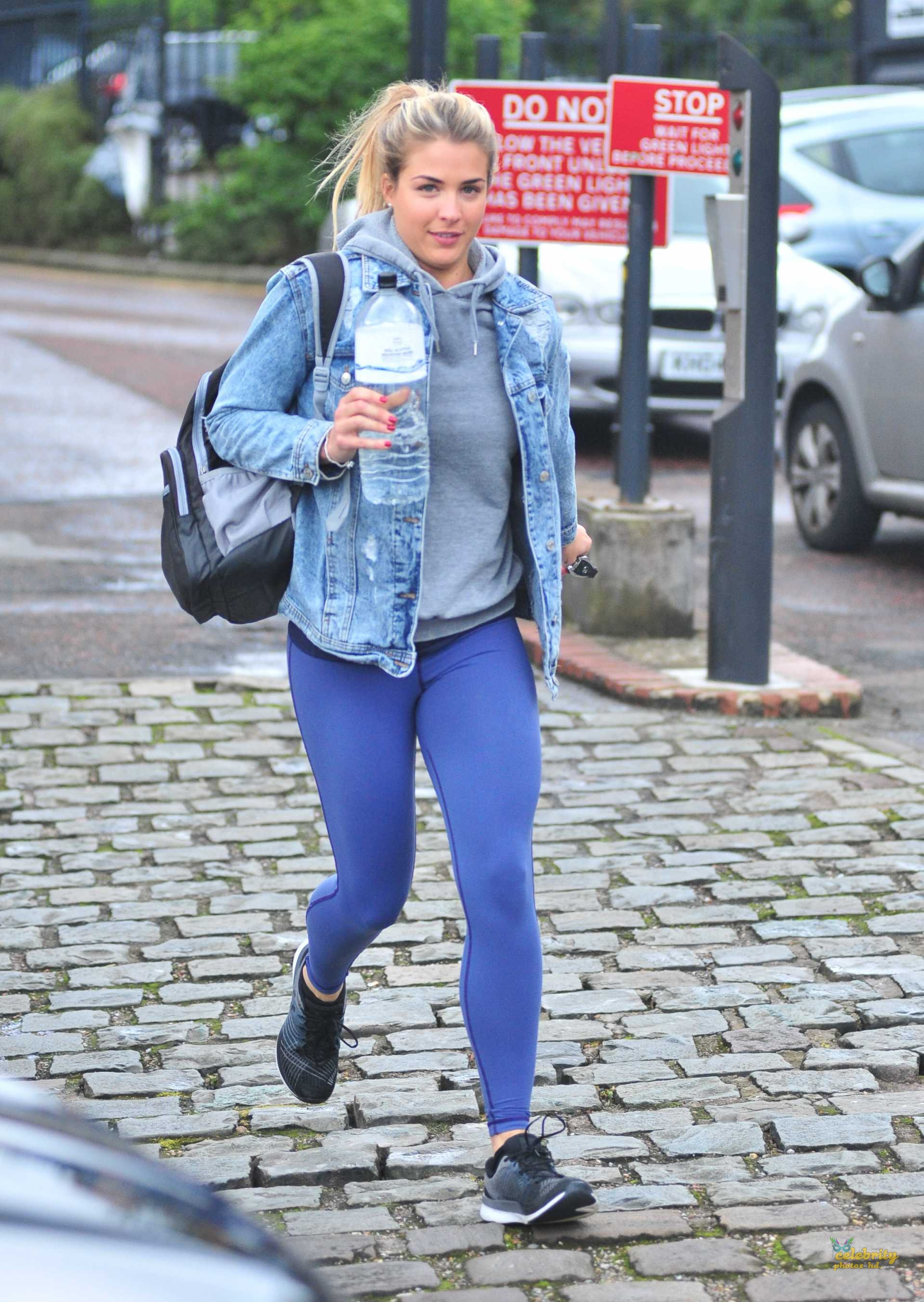 Gemma Atkinson Booty, Ariving at 'Strictly Come Dancing' Rehearsals (3)