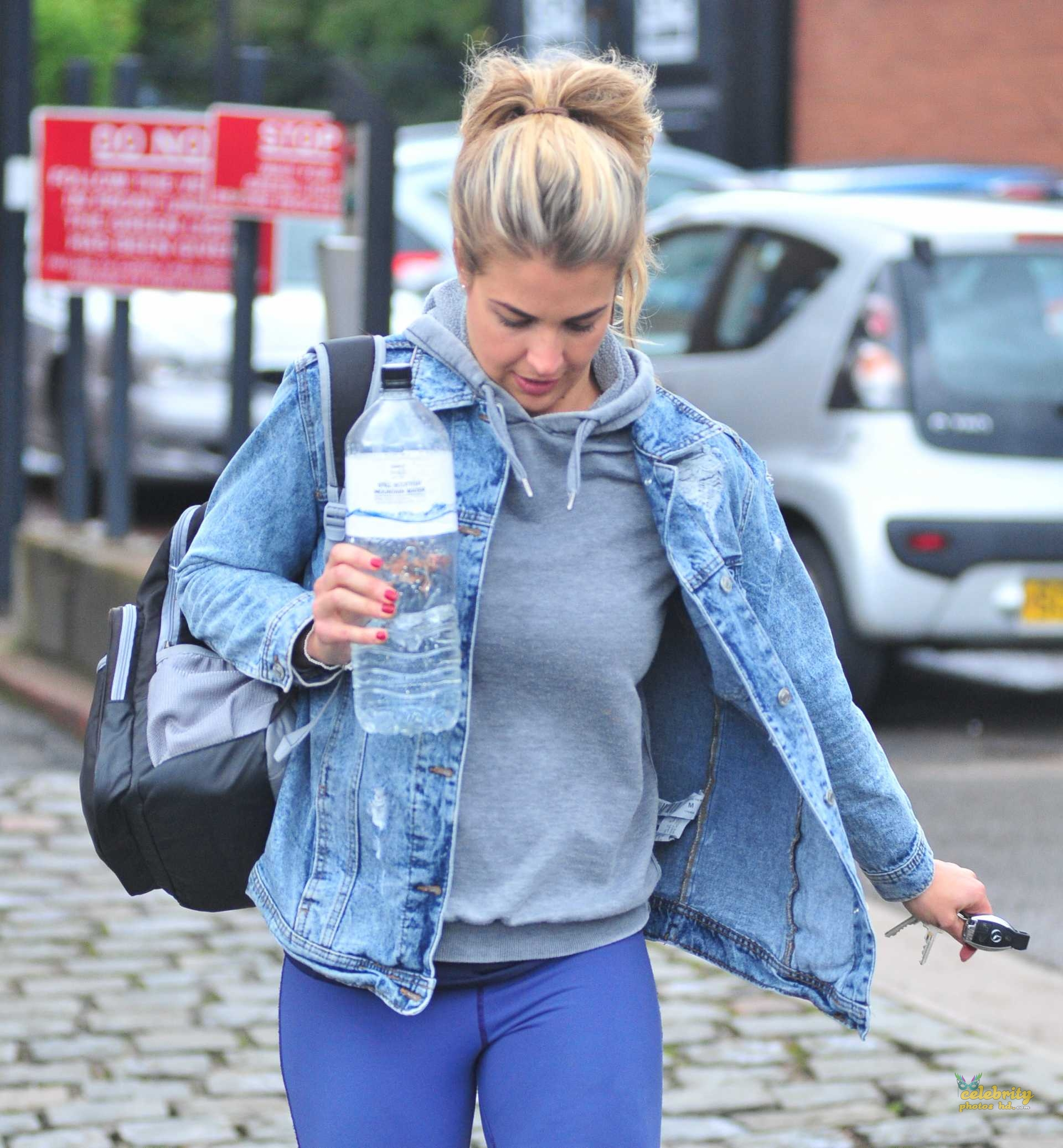 Gemma Atkinson Booty, Ariving at 'Strictly Come Dancing' Rehearsals (4)