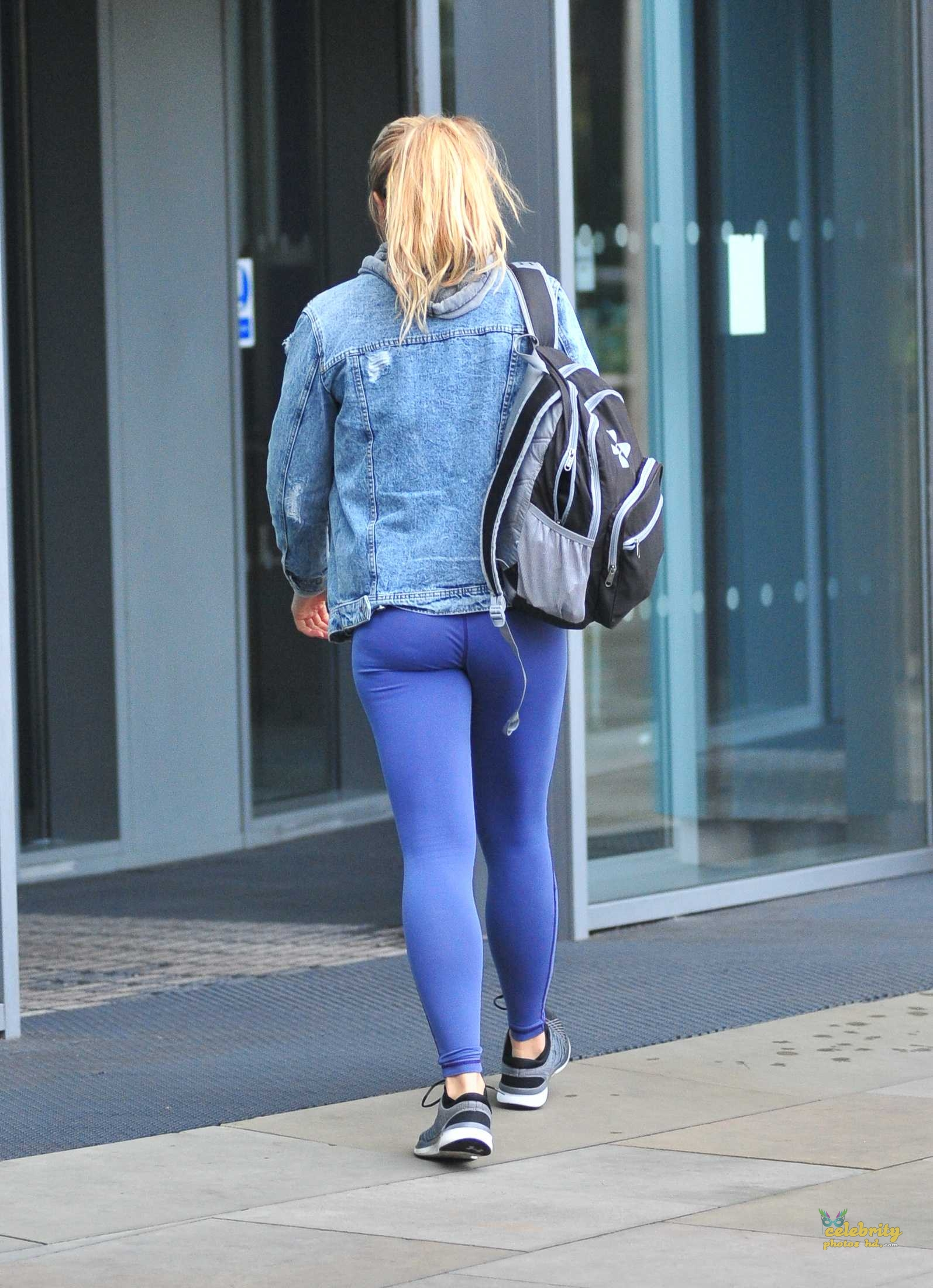 Gemma Atkinson Booty, Ariving at 'Strictly Come Dancing' Rehearsals (5)