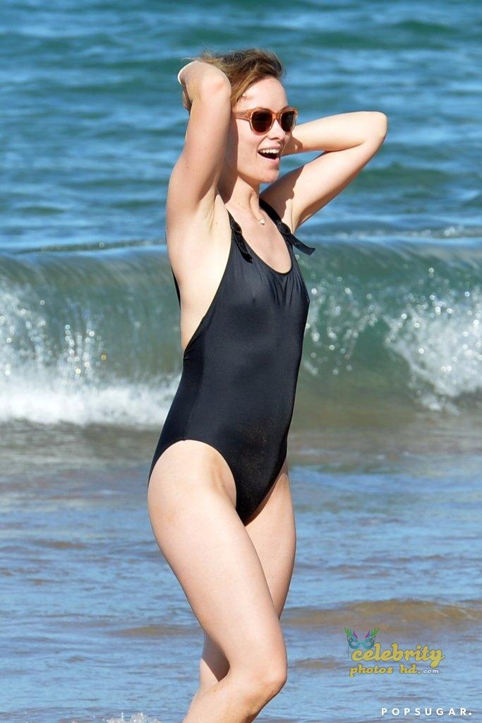 Hollywood Actress Olivia Wilde Hawaii November 2017 (3)