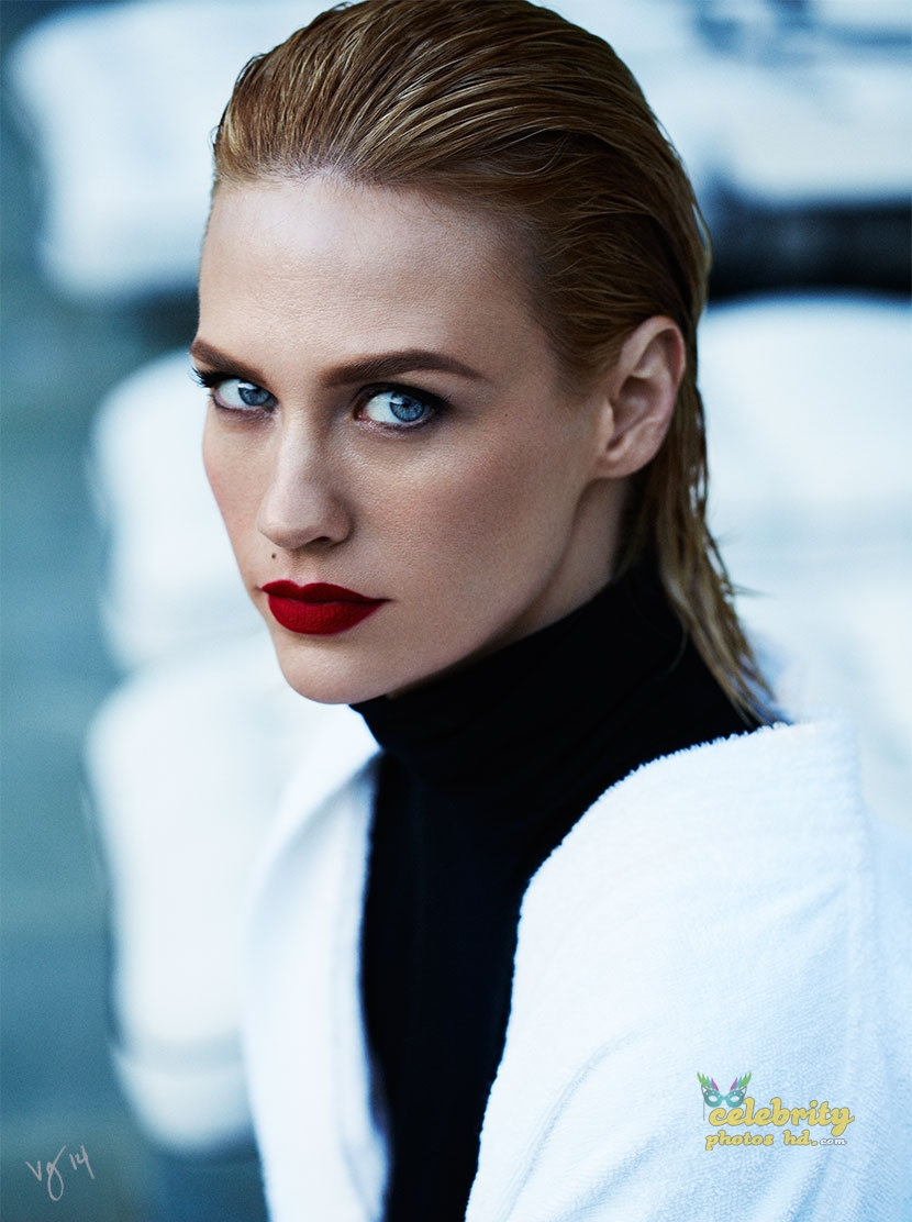 January Jones in Ben Hassett Photoshoot for Violet Grey Photo's (1)