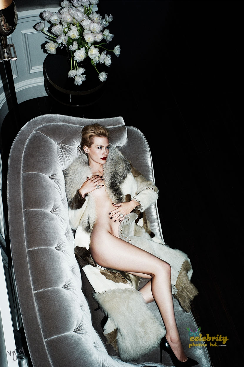 January Jones in Ben Hassett Photoshoot for Violet Grey Photo's (6)