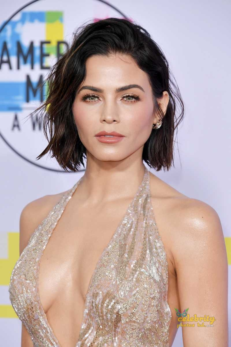 Jenna Dewan-Tatum at 2017 American Music Awards in LA (1)