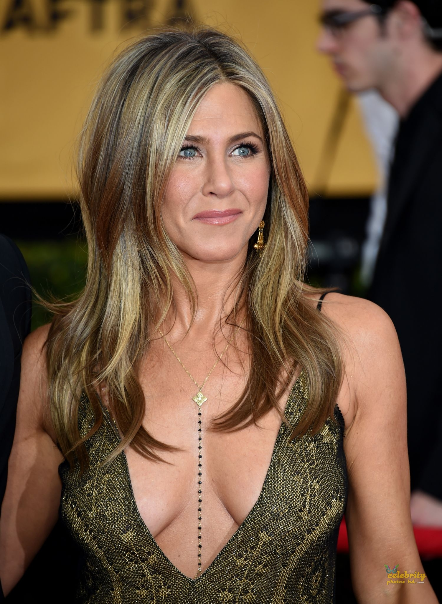 Jennifer Aniston at 21st Annual Screen Actors Guild Awards in LA (1)