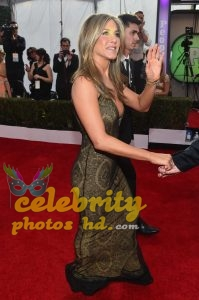Jennifer Aniston at 21st Annual Screen Actors Guild Awards in LA (2)
