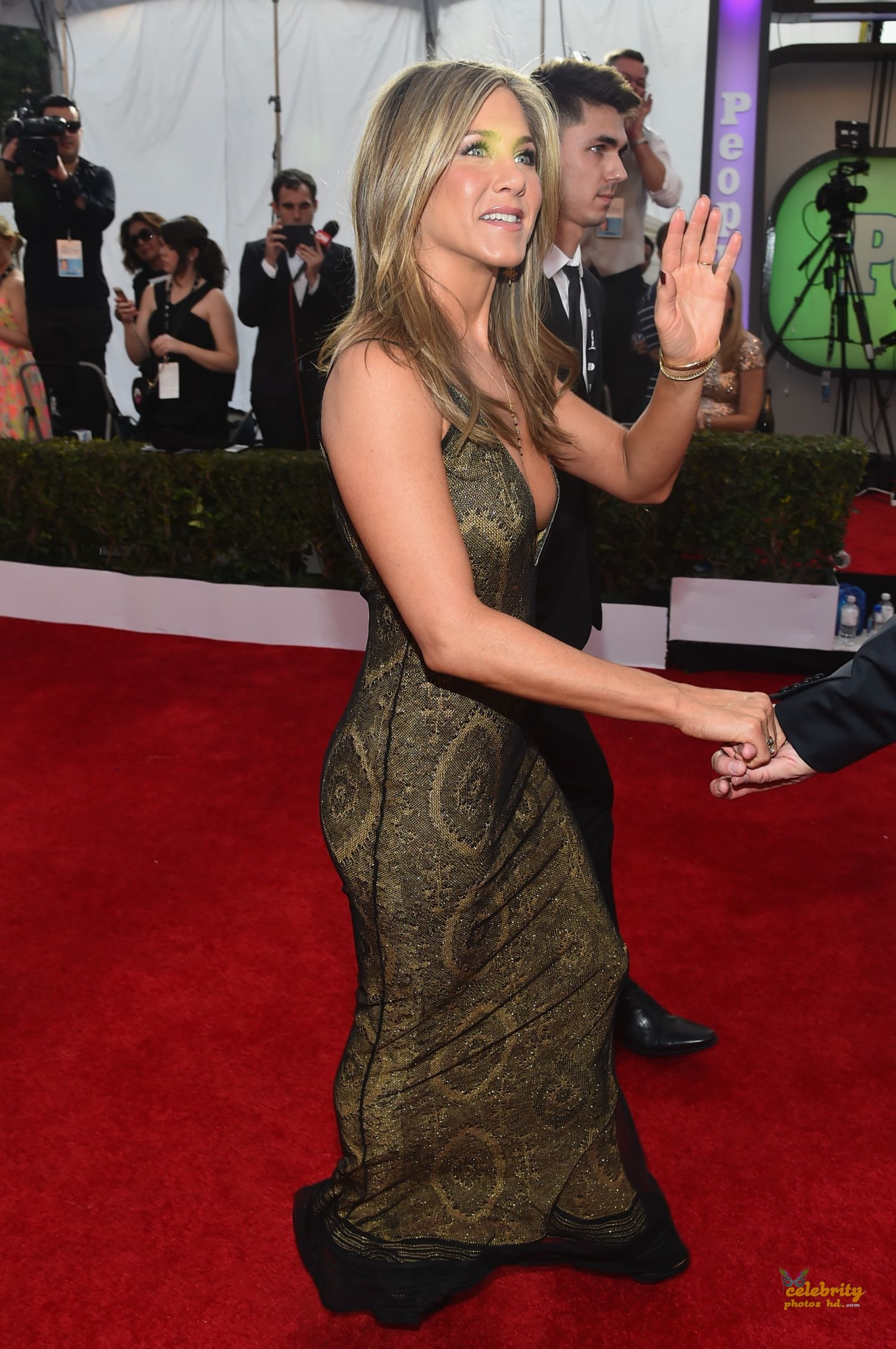 Jennifer Aniston at 21st Annual Screen Actors Guild Awards in LA (2)