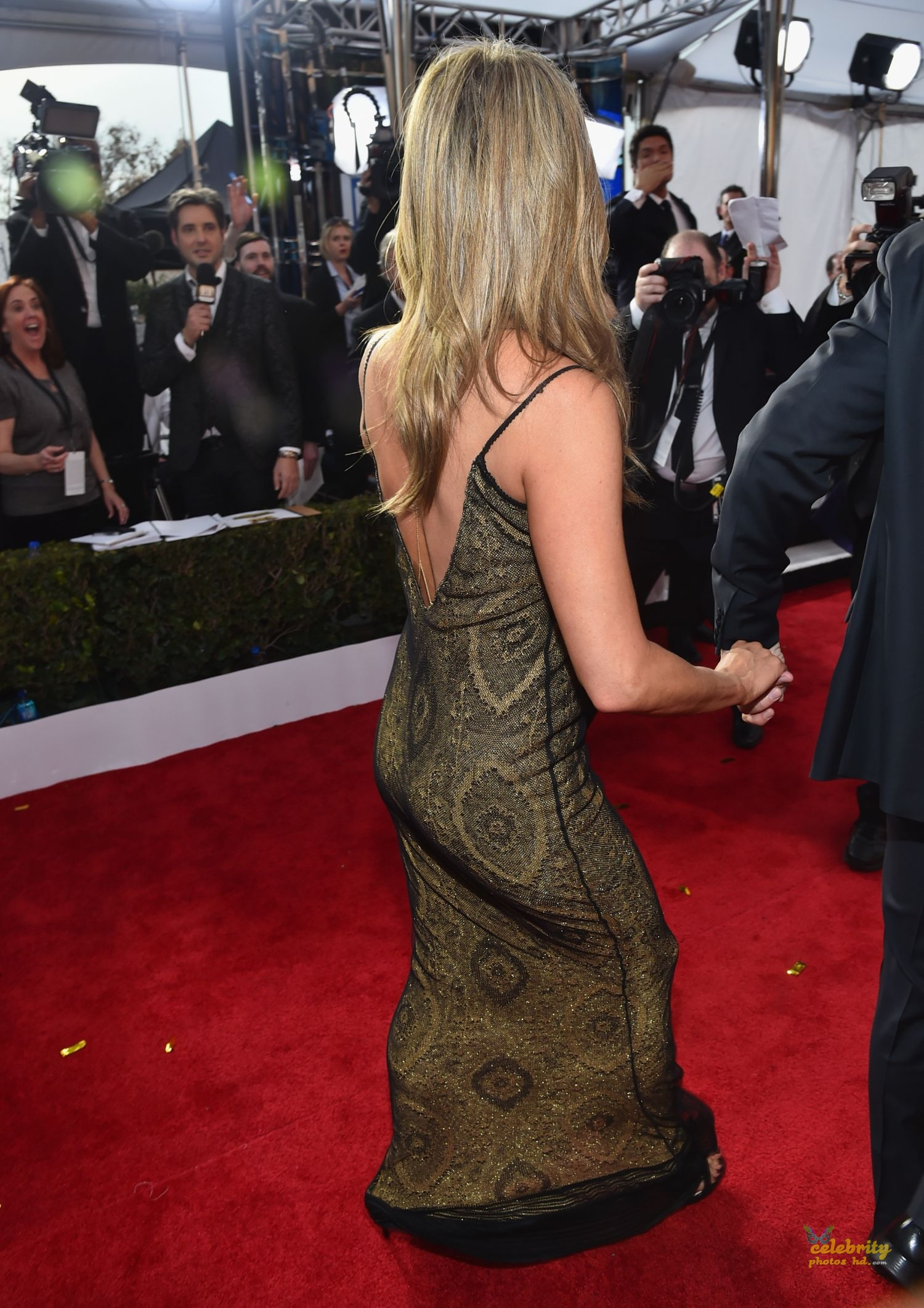 Jennifer Aniston at 21st Annual Screen Actors Guild Awards in LA (5)