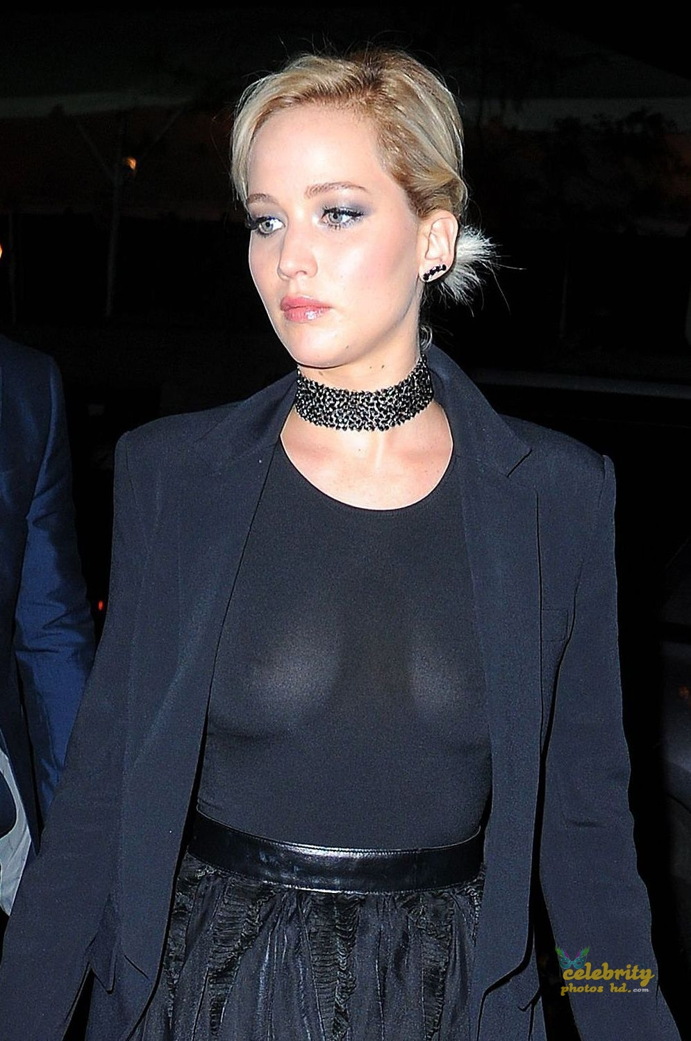 Jennifer Lawrence See-Through Candids in New York (2)