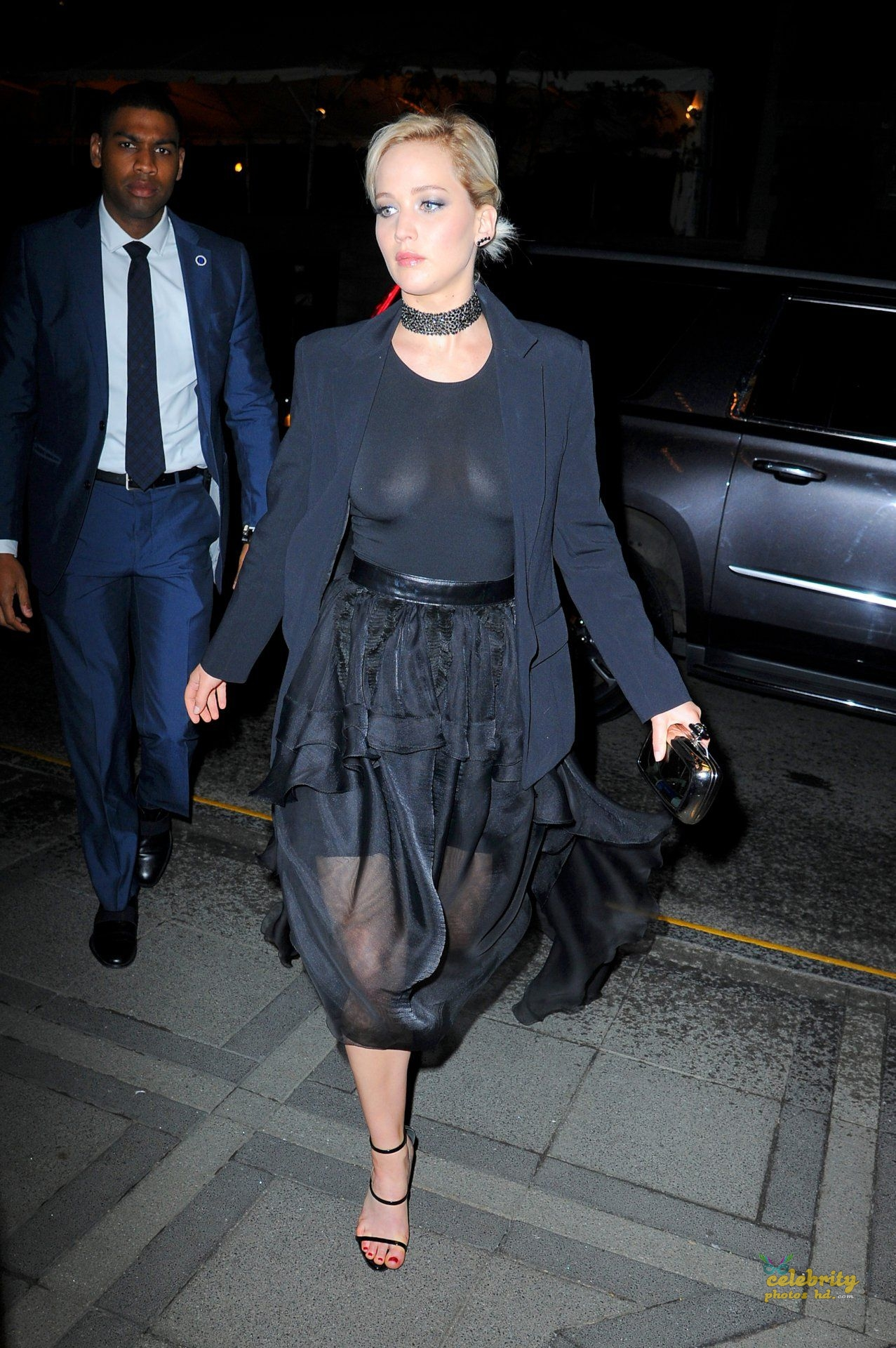 Jennifer Lawrence See-Through Candids in New York (4)