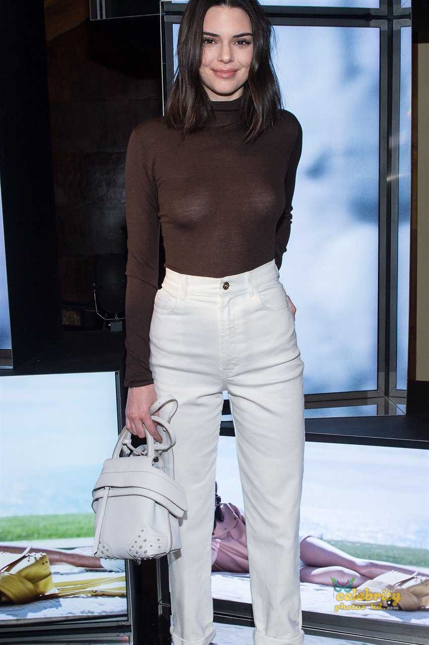 Kendall Jenner at Tod's Spring 2018 Campaign Launch in Milan (4)
