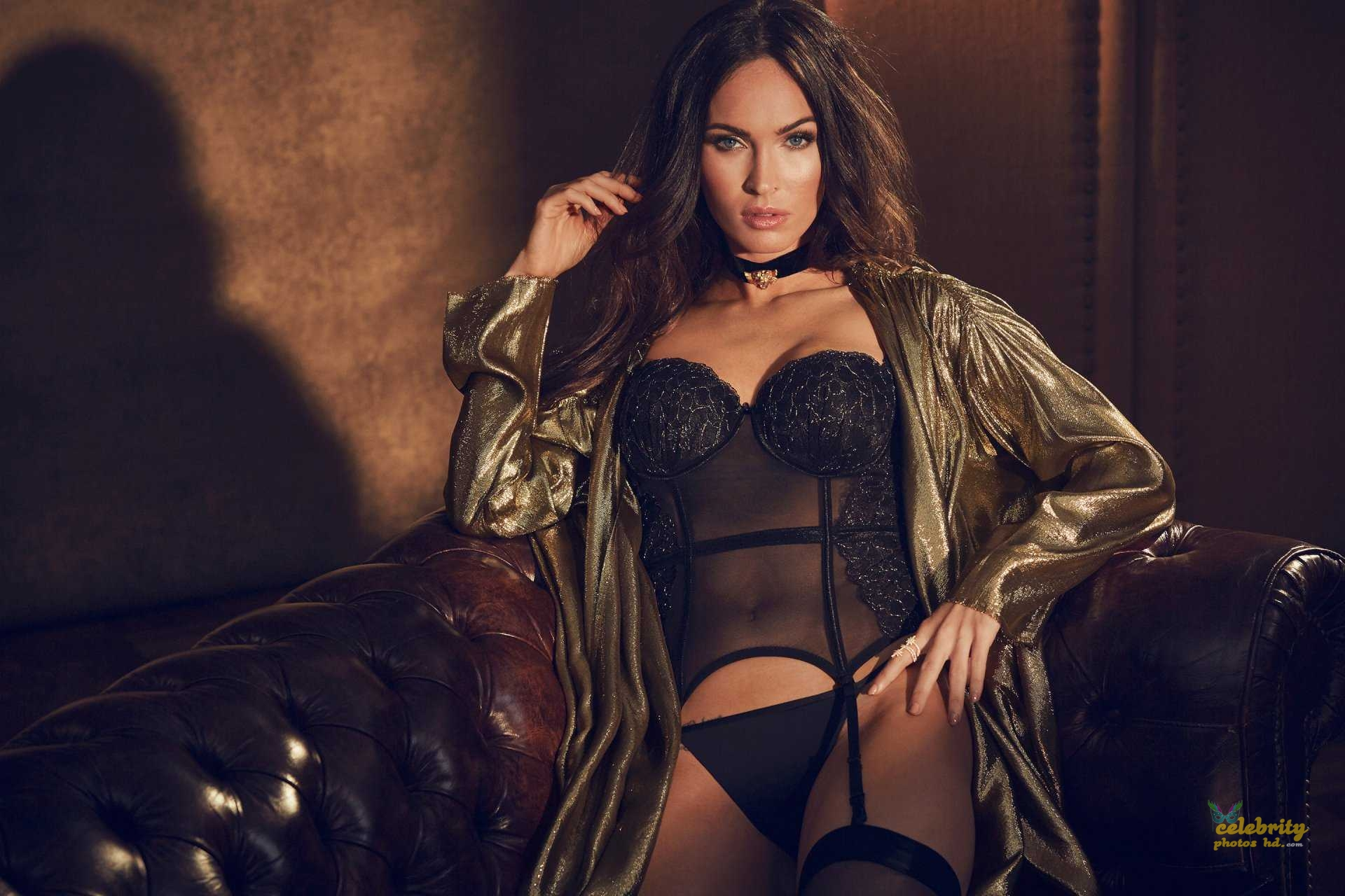 Megan Fox in Fredericks's of Hollywood Lingerie Photoshoot (1)