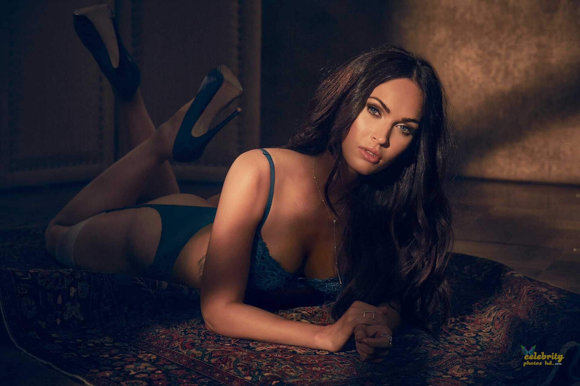Megan Fox in Fredericks's of Hollywood Lingerie Photoshoot (3)