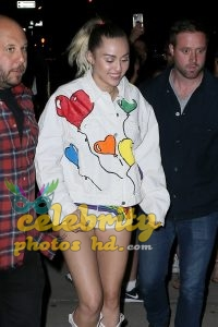 Miley Cyrus Leaving the Tonight Show with Jimmy Fallon in NYC (4)