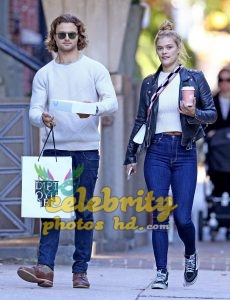 NINA AGDAL Out for Lunch in New York (1)