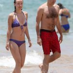 Olivia Wilde Bikini Pictures Kissing Jason Sudeikis Hawaii