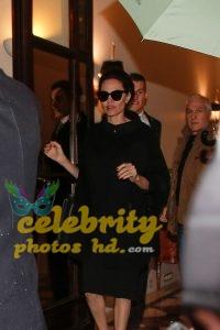 ANGELINA JOLIE Leaves Her Hotel in Paris (1)
