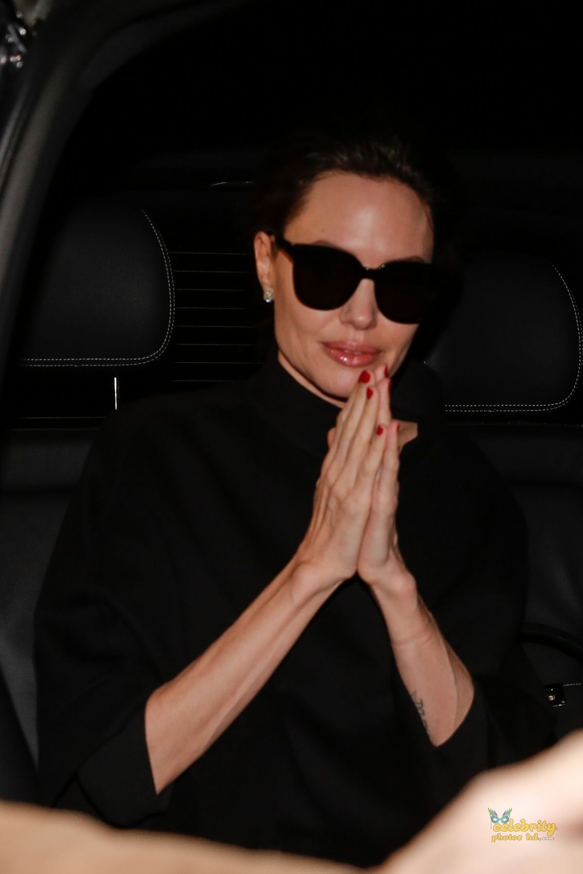 ANGELINA JOLIE Leaves Her Hotel in Paris (2)