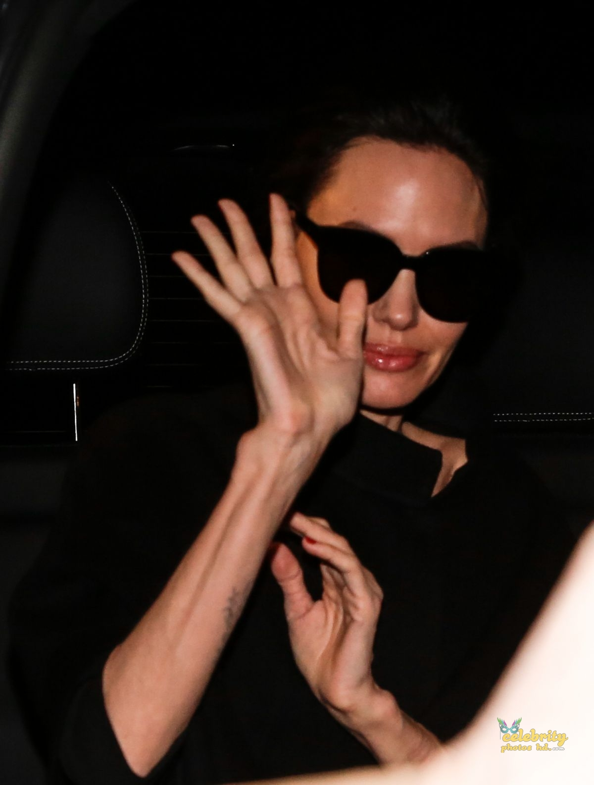 ANGELINA JOLIE Leaves Her Hotel in Paris (3)